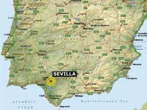 Seville Spain Map by Maps Of Sevilla