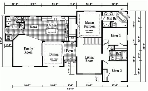 modular homes with basement floor plans cool modular home ranch floor plans new home plans design