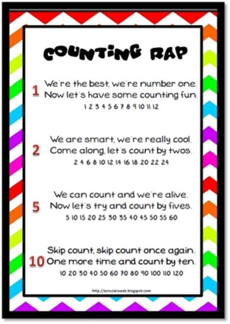pattern math song 121 best skip counting images on pinterest teaching math