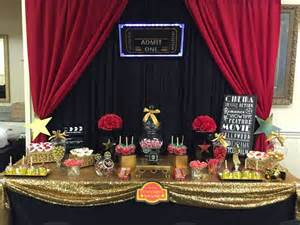 hollywood red carpet birthday party ideas photo 1 of 23