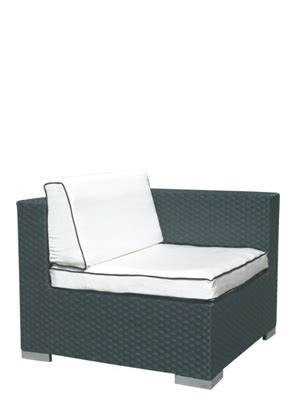 one seat couch called oceanic 1 seat sofa l the chair market