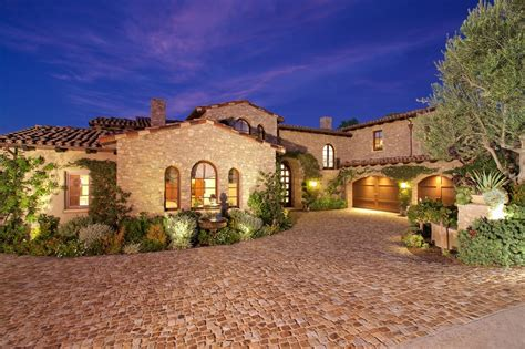 Real Estate Floor Plans Software Luxury Tuscan Style House Interior Amp Exterior Pictures