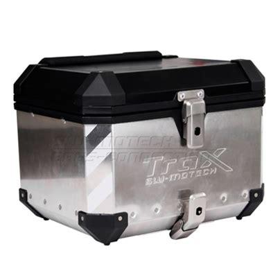 05 L Silver trax top box silver 38l klcl motorbike helmets