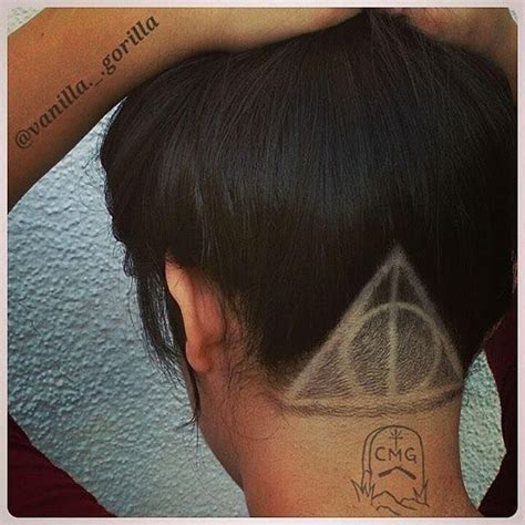 undercut hair tattoo 25 best ideas about designs on