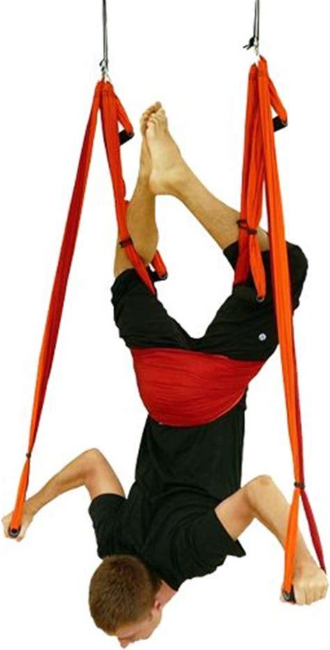 yoga inversion swing yoga trapeze fitness training for climbing pinterest