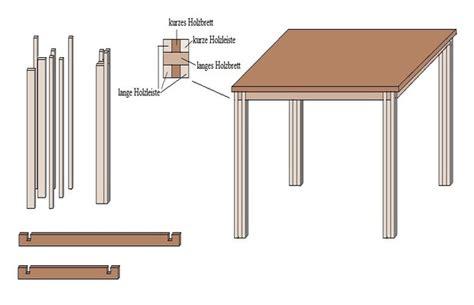 Tisch Aus Arbeitsplatte Bauen by Tisch Selber Bauen Anleitung Hauptdesign
