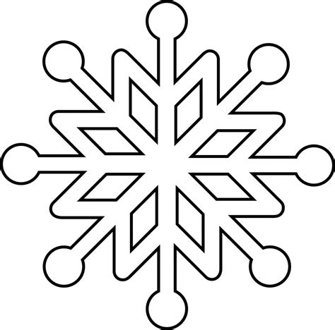 Best Home Ideas Net line drawing snowflake snowflake line drawing clipart best