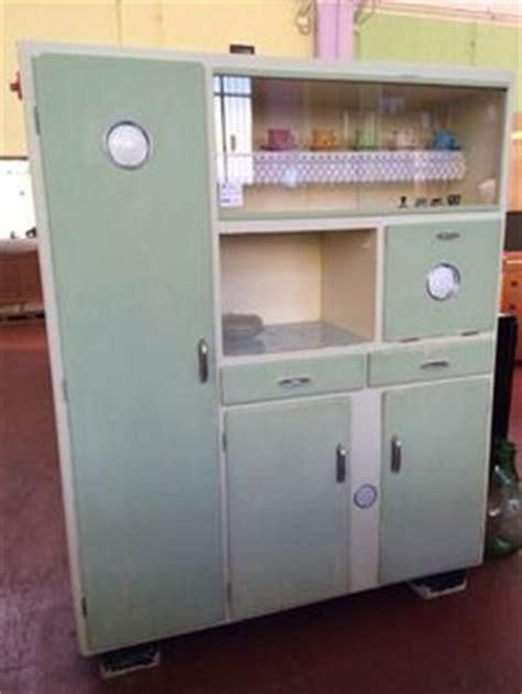 credenza verde acqua credenza originale anni 50 completamente restaurata