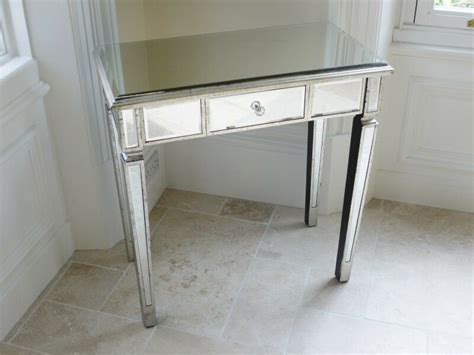 stunning venetian glass mirrored bedroom dressing table  console table  ebay