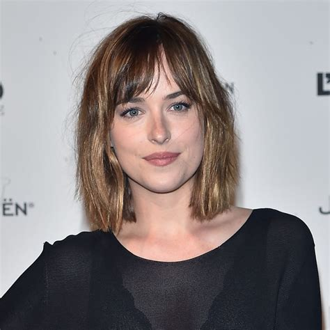 how to cut bangs like dakota johnson dakota johnson at the venice film festival will make you