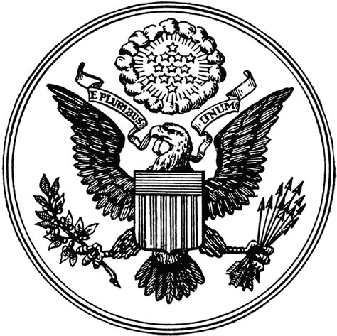 great seal of the united states clipart etc