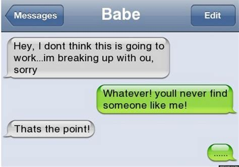 Funny Texts - funny texts the funniest breakup texts ever photos