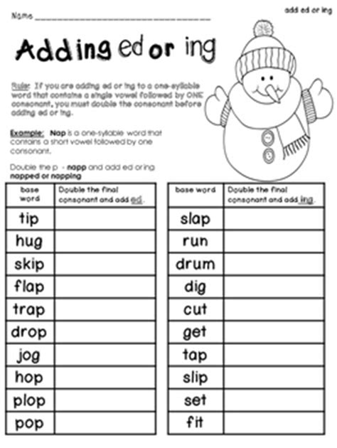 rule adding suffixes ed and ing changes the tense of a verb past tense spelling rules when adding ed ing 33 suffix