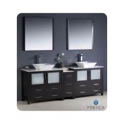 Commercial Grade Kitchen Faucets Fresca Torino 84 Quot Modern Double Sink Bathroom Vanity W