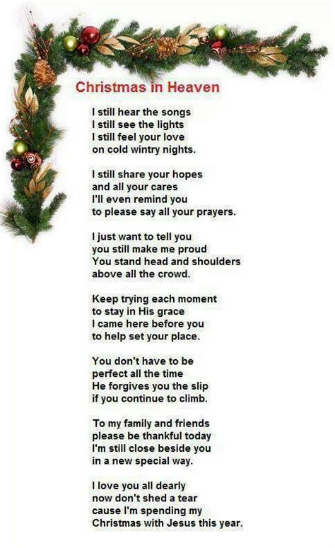 christmas prayer  heaven christmas  heaven christmas  heaven poem christmas poems