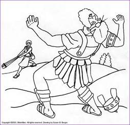david and goliath coloring page david and goliath printable coloring pages