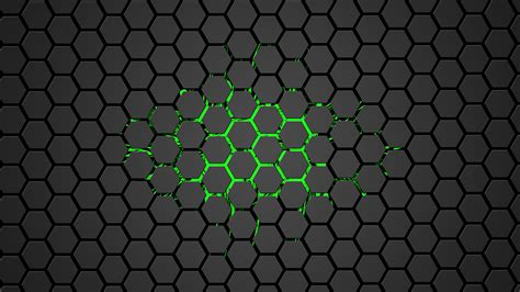 wallpaper abstract hex hex green by sh4rk2010 on deviantart