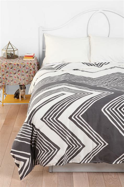 bedding like urban outfitters magical thinking geo empire duvet cover urbanoutfitters
