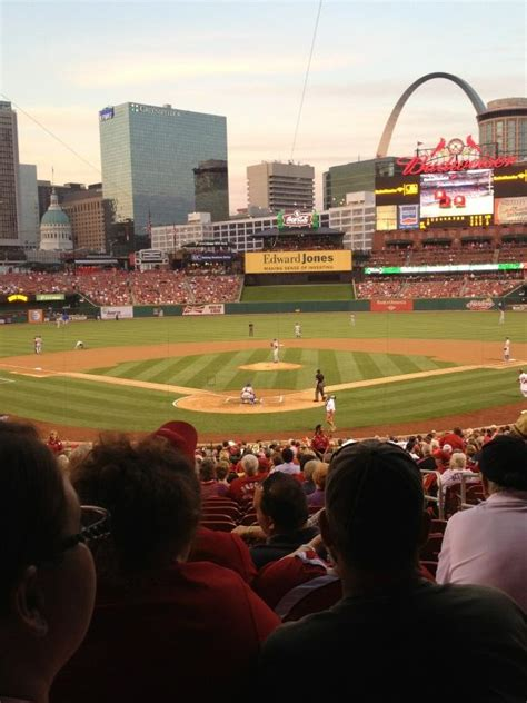 section 150 busch stadium the view from your seat mets vs cardinals 9 4 12