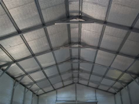How To Insulate A Metal Garage by Metal Building Insulation Barn And Garage Insulation