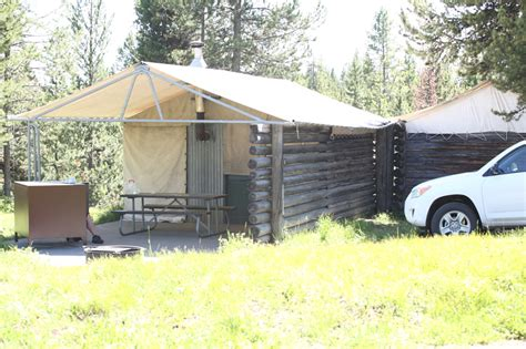 Colter Bay Tent Cabins by Brian S Flying Teton Flying Trip 2009