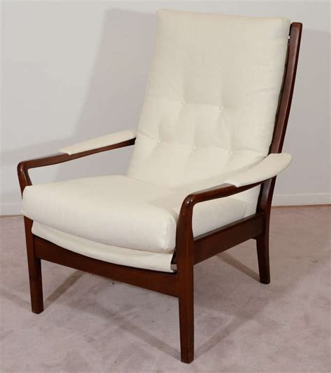 matching chair and ottoman mid century modern lounge chair and matching ottoman at