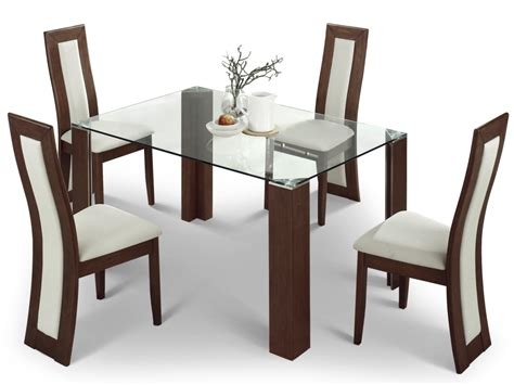 solid beautiful dining table and chairs pickndecor