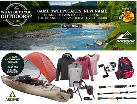 Outdoor Channel Sweepstakes - outdoor channel win an ascend brand prize package valued a giveawayus com