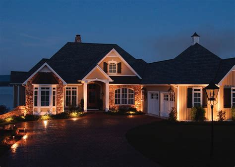 exterior accent lighting for home best home design 2018