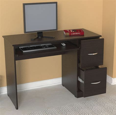 Overstock Home Office Desks Inval Computer Desk Contemporary Desks By Overstock