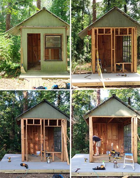 home dzine home diy turn that shed or garden hut