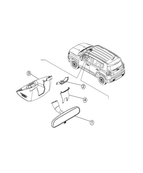 jeep renegade coloring page jeep renegade cover export inside mirror trim o0