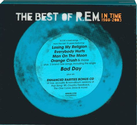 best of rem r e m in time the best of r e m 1988 2003 cd at discogs
