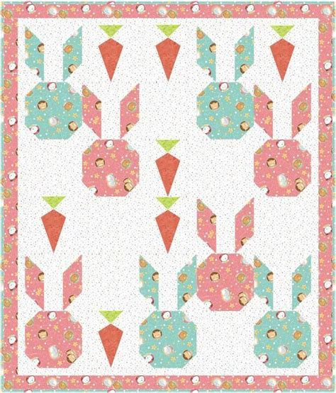 blue quilt wallpaper bunny and carrot baby quilt pattern blue backgrounds