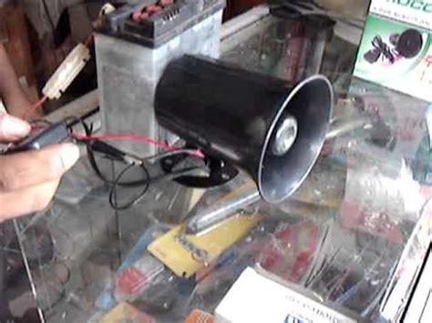 Klakson Toa 7 Mode Suara jual toa dan mic sirine 7 suara spectum 80watt 12volt