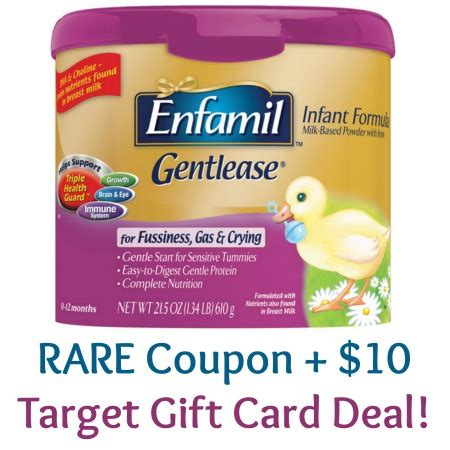 Buy Buy Baby Gift Card Cvs - rare enfamil baby formula coupon 10 gift card deal at target coupon closet