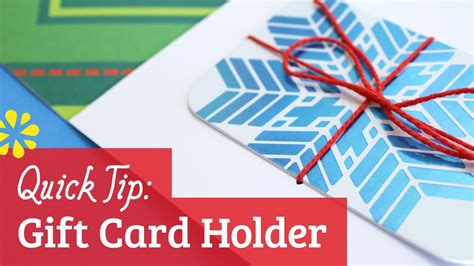 How To Make Gift Card Holders Out Of Paper - how to make a gift card holder