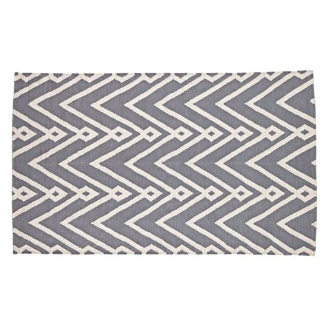 chevron print area rug grey chevron rug 5 215 8 home decor