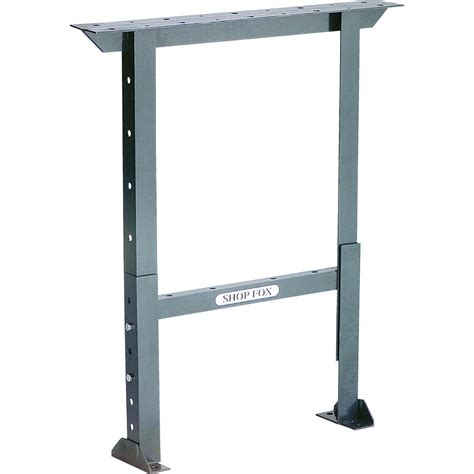 Work Bench Legs stands tables bases shop fox workbench leg 28 inch wide height adjustable d2659