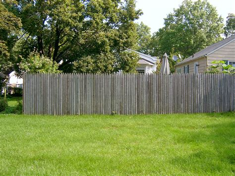 backyard fence photo gallery archive a j landscape design