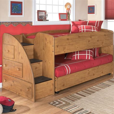 Low Bunk Beds With Trundle Panel Customizable Bedroom Set Beds With Storage So And Rooms