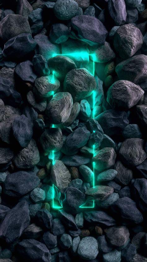 stone neon iphone wallpaper   neon light wallpaper