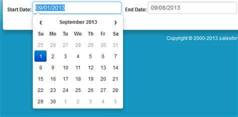 jquery datepicker not showing properly on a modal window jquery salesforce apex inputtext with twitter bootstrap