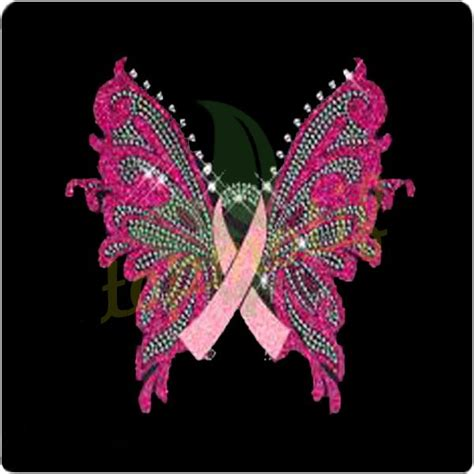Heat Transfer Ru16 Pink 17 best images about pink ribbon rhinestone transfer on motif design products and
