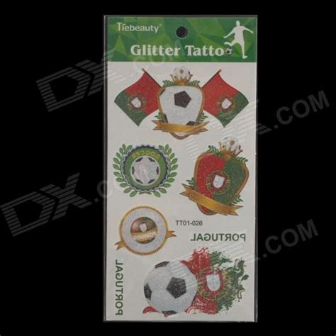 tattoo prices portugal 2014 world cup portugal flag pattern waterproof