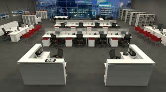 Office Desk Layouts Modern Workstation Design Layout For Open Plan Office Spaces Co Working Space