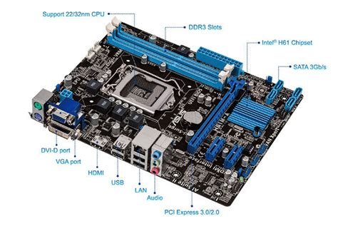 Asus H61m D By Ardy Komputer motherboards h61m a asus global