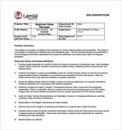 Regional Sales Director Description by Sales Manager Description Template 11 Free Word Pdf Format Free Premium