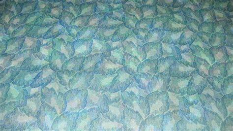 printable fabric vinyl blue green leaf print vinyl upholstery fabric 1 yard fabric