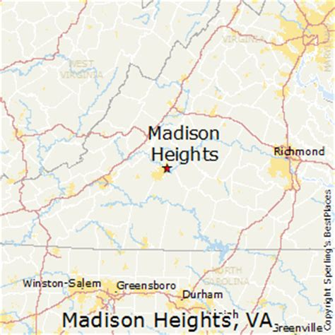 houses for sale in madison heights va best places to live in madison heights virginia